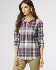 RIVERSTONE PLAID SHIRT, RIVERSTONE PLAID, large
