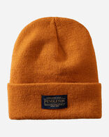 PENDLETON BEANIE IN ORANGE