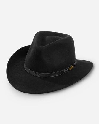 INDY HAT IN BLACK