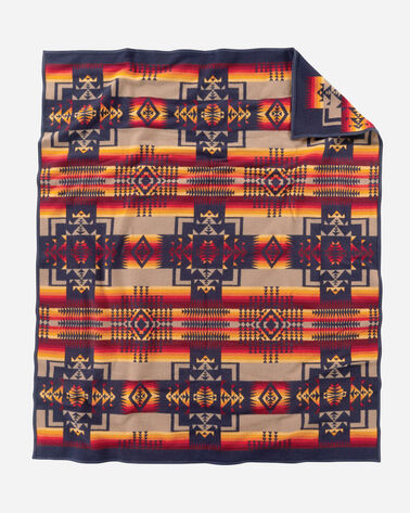 ADDITIONAL VIEW OF CHIEF JOSEPH BLANKET IN NAVY