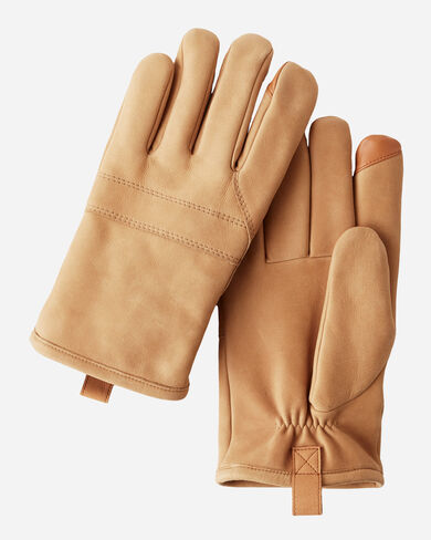 LEATHER GLOVES, , large