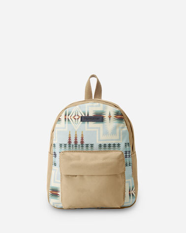 HARDING CANOPY CANVAS MINI BACKPACK IN AQUA