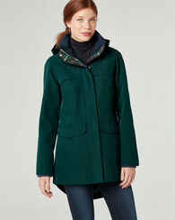 PENDLETON SIGNATURE CARMEL RAINCOAT, GREEN PONDEROSA, large