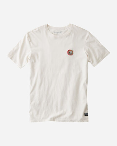 HURLEY X PENDLETON PARK PATCH TEE, GLACEIR IVORY, large