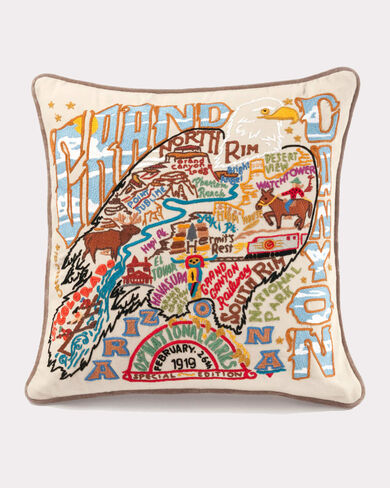 GRAND CANYON PILLOW, MULTI, large