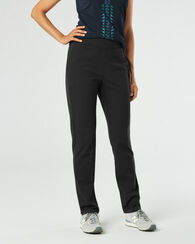 PONTE LOUNGE PANTS, BLACK, large