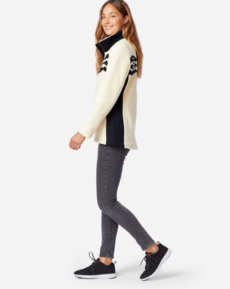 ALTERNATE VIEW OF WOMEN'S BROOKE SONORA SHERPA JACKET IN IVORY SONORA