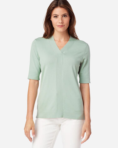 WOMEN'S COLBY SUIT SWEATER IN JADEITE GREEN