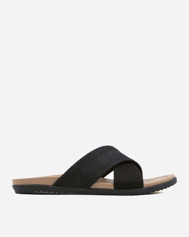 WOMEN'S GULF SHORE CROSSOVER SANDALS IN BLACK