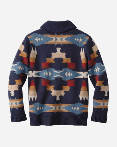 TUSCON CARDIGAN, NAVY, large