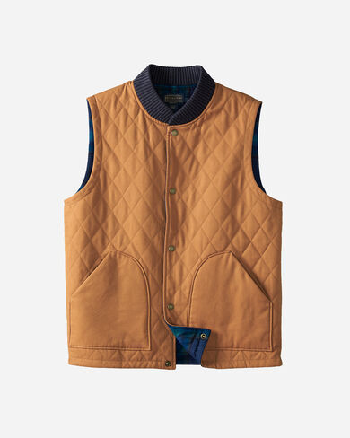 REVERSIBLE CANVAS VEST, , large