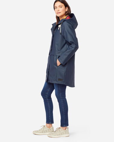 ALTERNATE VIEW OF WOMEN'S PELICAN POINT WATERPROOF JACKET IN NAVY