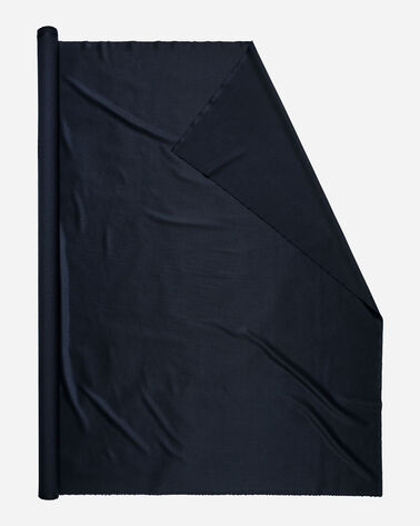 WORSTED GABARDINE FABRIC IN NAVY