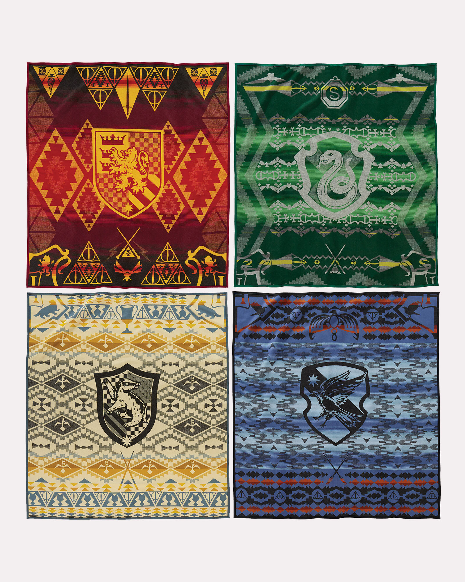 harry potter muggles fleece blanket large print design. Black Bedroom Furniture Sets. Home Design Ideas