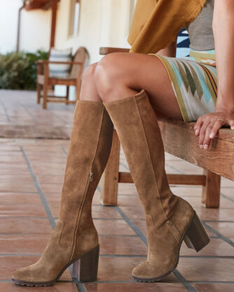 MADISON TALL SUEDE BOOTS