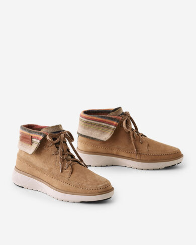 WOMEN'S ROCKY FLATS HIGH TOP SNEAKERS IN TOASTED COCONUT