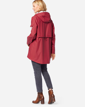 ADDITIONAL VIEW OF WOMEN'S CANNON BEACH JACKET IN RED