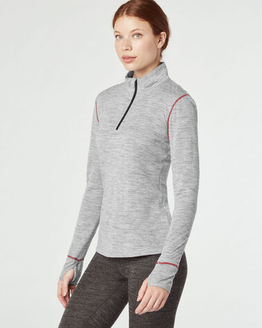 BASELAYER MOCKNECK ZIP TOP