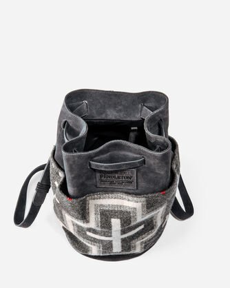 SAN MIGUEL BUCKET BACKPACK, GREY MIX, large