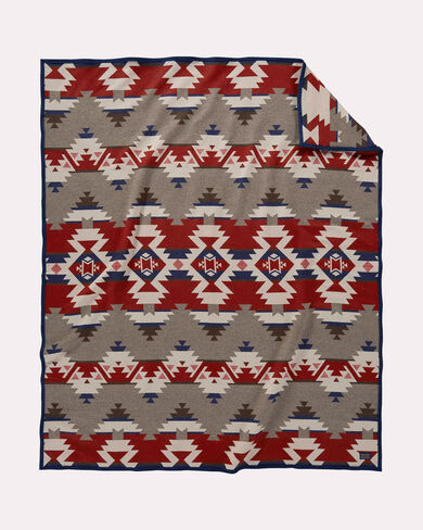 MOUNTAIN MAJESTY BLANKET, FAWN, large