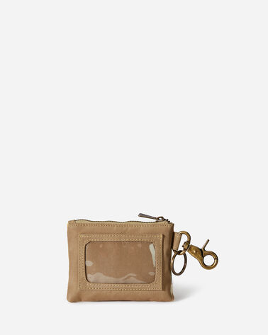ADDITIONAL VIEW OF CHIEF JOSEPH CANOPY CANVAS ID POUCH IN IVORY