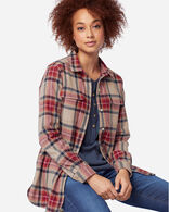 WOMEN'S BOARD SHIRT IN VINTAGE STEWART TARTAN