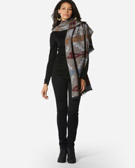 TUCSON OVERSIZED WRAP, GREY, large