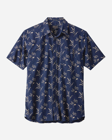 FITTED FOLIAGE PRINT KAY STREET SHIRT