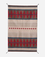 MONTPELIER RUG IN NATURAL/RED