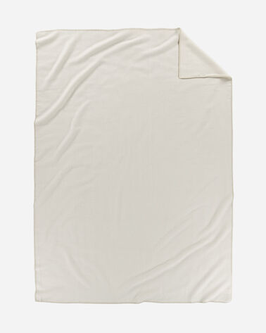 ECO-WISE WOOL SOLID BLANKET, WHITE, large