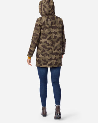ALTERNATE VIEW OF WOMEN'S WOOL PARKA IN CAMO