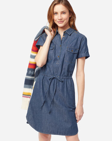 STITCHLINE CHAMBRAY DRESS