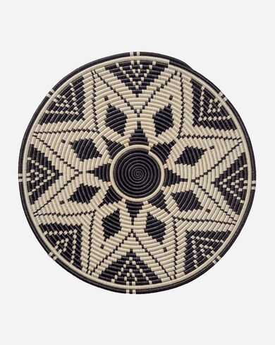 WALL DISC IN BLACK/WHITE