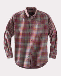 SOMERSET HEATHER SHIRT, RED/CHARCOAL CHECK, large