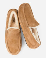 ASCOT SLIPPERS IN CHESTNUT