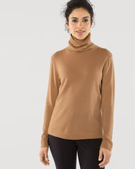 MERINO TURTLENECK, CAMEL, large