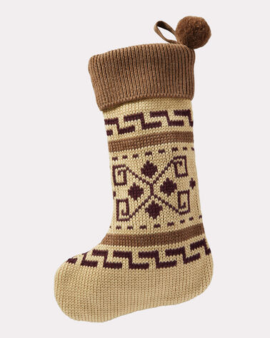 WESTERLEY KNIT STOCKING, TAN, large