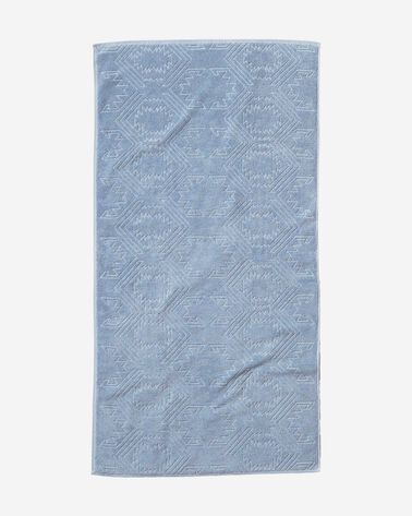 WHITE SANDS BATH TOWEL, BLUE, large