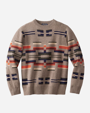 OUTDOOR CREW SWEATER, PAINTED HILLS TAN, large
