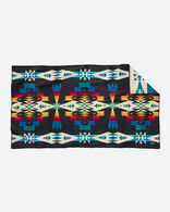 TUCSON SADDLE BLANKET IN BLACK