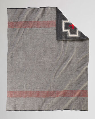 ALTERNATE VIEW OF SAN MIGUEL KNIT THROW IN GREY