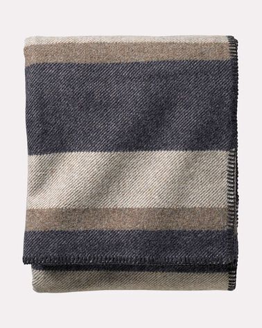 ECO-WISE WOOL PLAID STRIPE BLANKET f6c5fb6f5