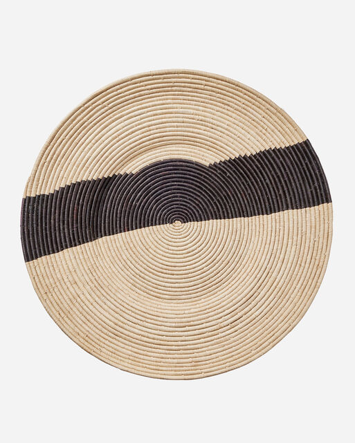 STRIPED RAFFIA DISC