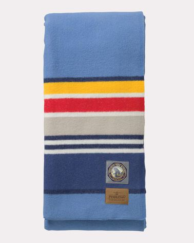 YOSEMITE NATIONAL PARK BLANKET, BLUE, large