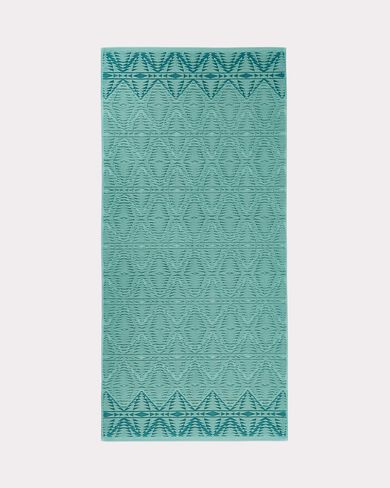 PECOS SCULPTED BATH TOWEL, AQUA, large