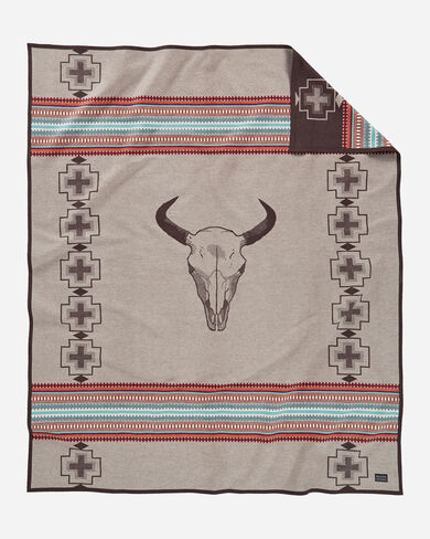 AMERICAN WEST BLANKET IN TAN