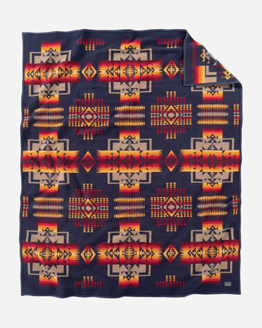 CHIEF JOSEPH BLANKET IN NAVY
