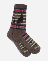 LOBO WOLF CAMP SOCKS IN BROWN