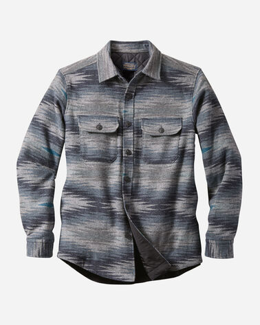 MEN'S MAGIC VALLEY QUILTED SHIRT JACKET IN BLUE