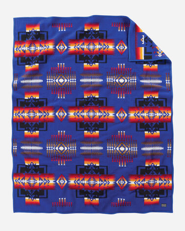 CHIEF JOSEPH BLANKET IN ROYAL